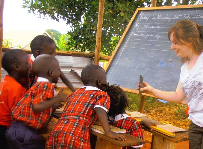 SIERRA LEONE: Teaching Volunteer Project