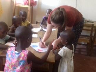 Togo English teaching volunteering
