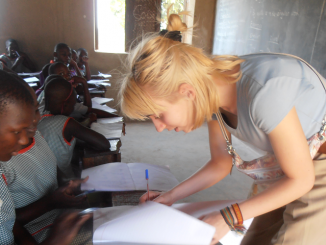 Senegal Teaching Volunteer work