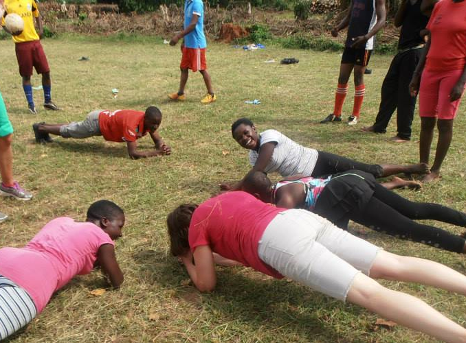 GHANA: Sports Coaching Volunteer Project