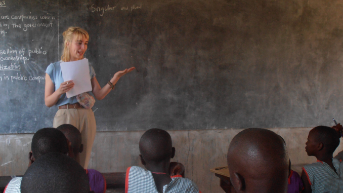 Kenya Teaching Volunteer Project