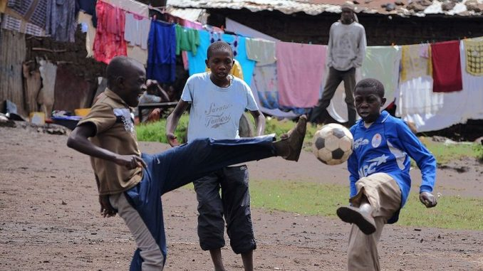 Senegal Sports Coaching volunteer