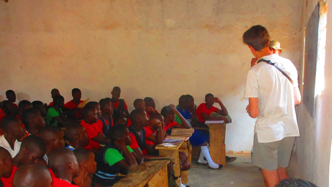 Botswana Teaching volunteer Project