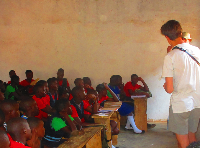 BOTSWANA: Teaching Volunteer Project