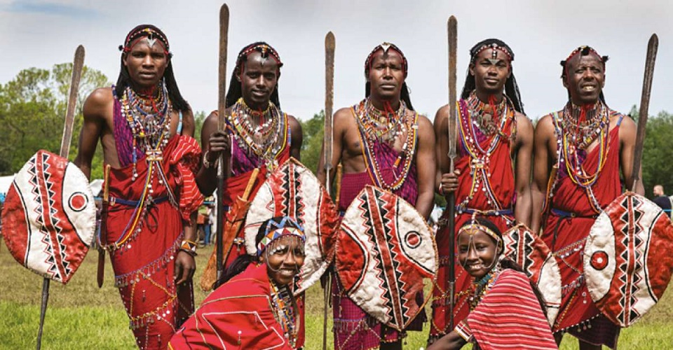Maasai People of Kenya