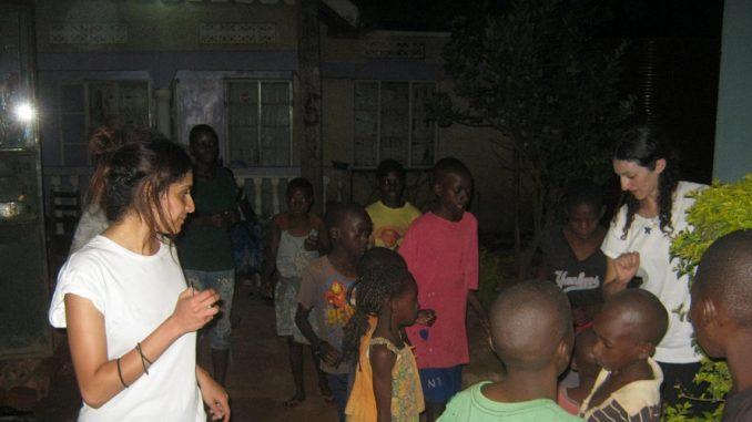 Street Kids Volunteer Work