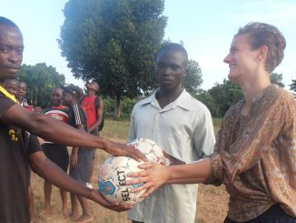 Sports Volunteering Project Uganda