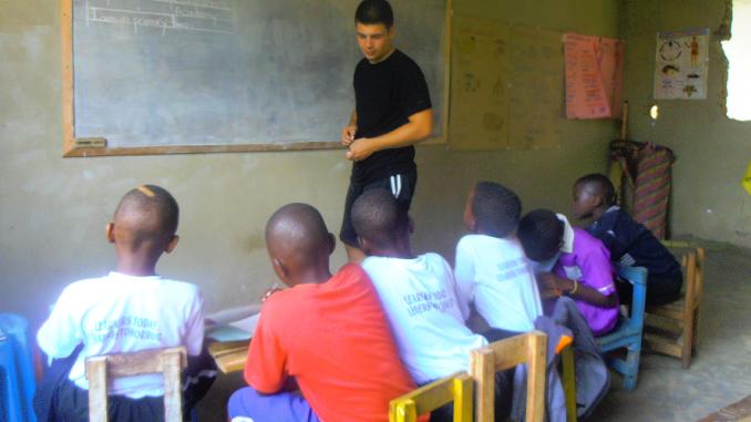 Zambia Teaching Volunteer Project